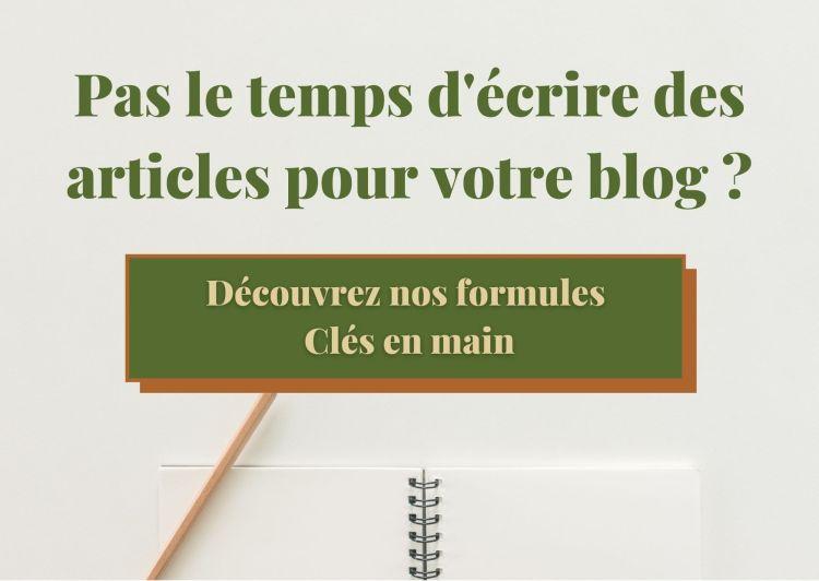 Rédaction Web Bonjour Green